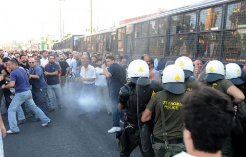 Strejk Halyvoyrgia