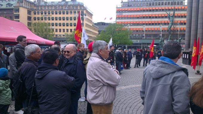 1 Maj Stockholm 2015