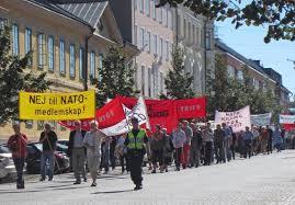 NATO-demonstration