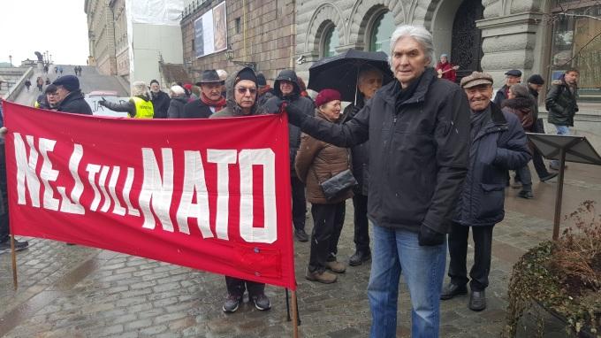 NATO demo