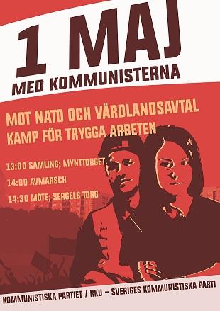 1 maj affisch 2016