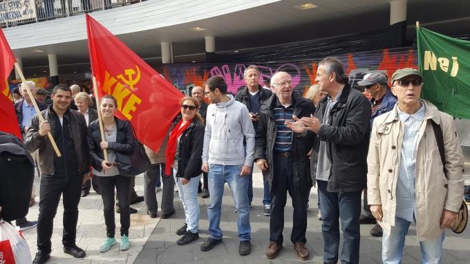 Mot NATO KKE
