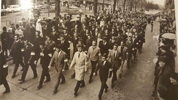 Demonstration 1 maj 1967